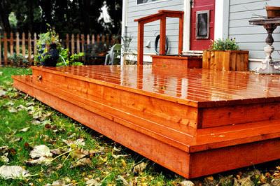 floating deck design