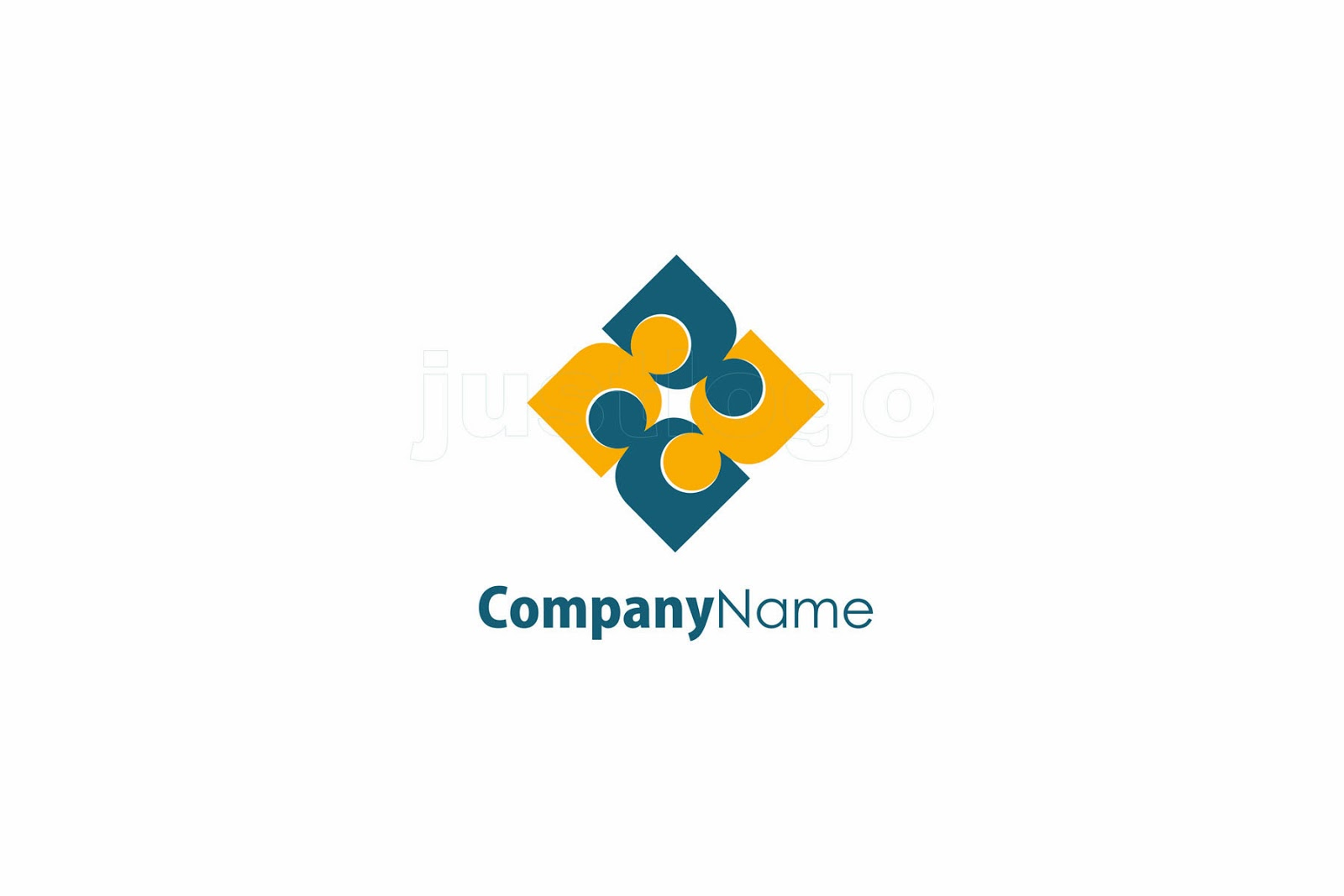 logo for social network company - Just Logo