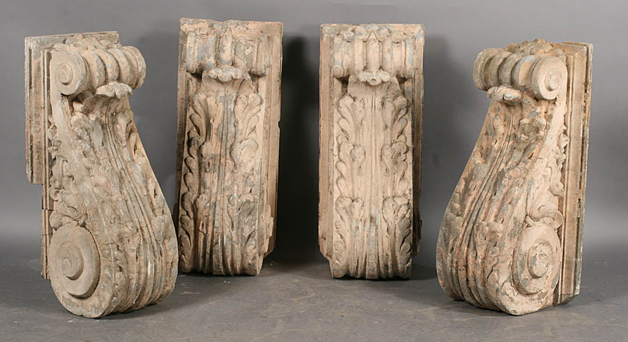 Auction decorating architectural details 39 at auction 39 for How many corbels to support granite