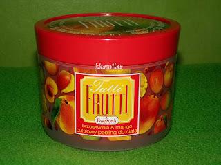 Farmona Tutti Frutti - Cukrowy peeling do ciała brzozkwinia & mango