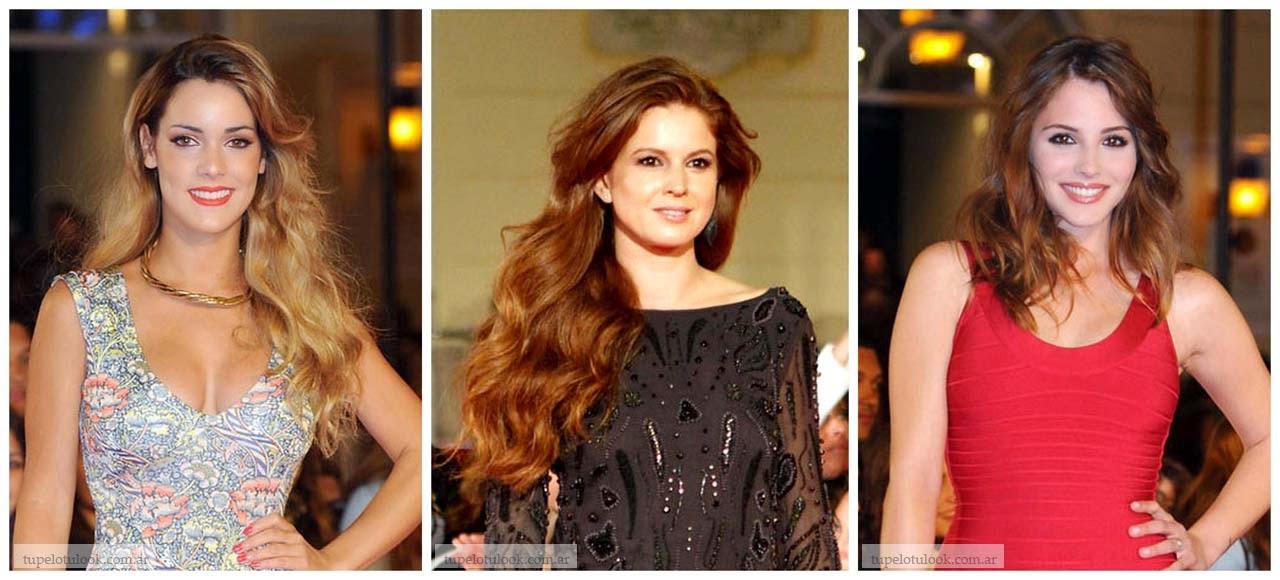 peinados pelo 2013 Malaga festival