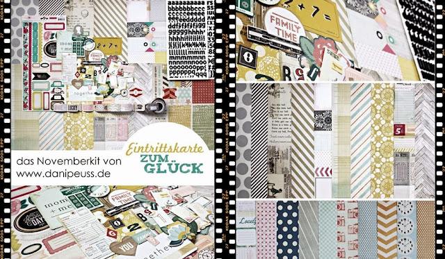 Scrapbooking Monatskit von www.danipeuss.de