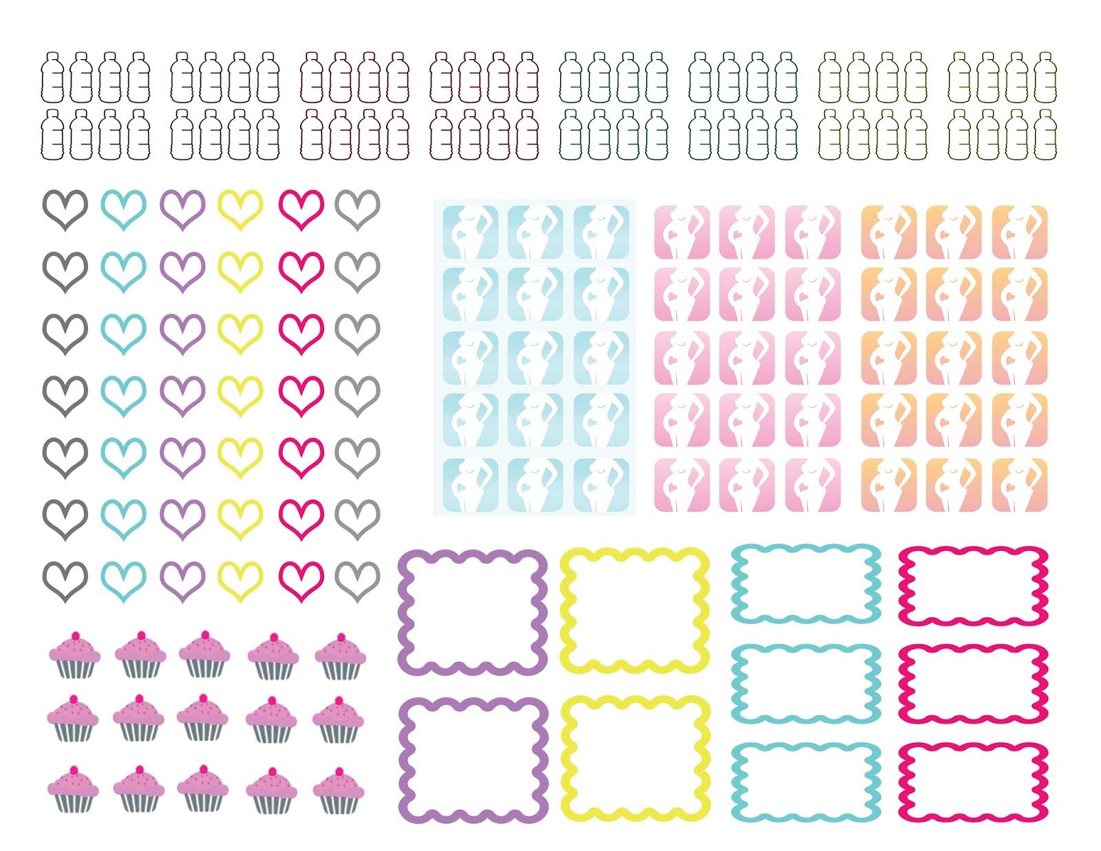 planner.PICKETT: Free Planner Stickers