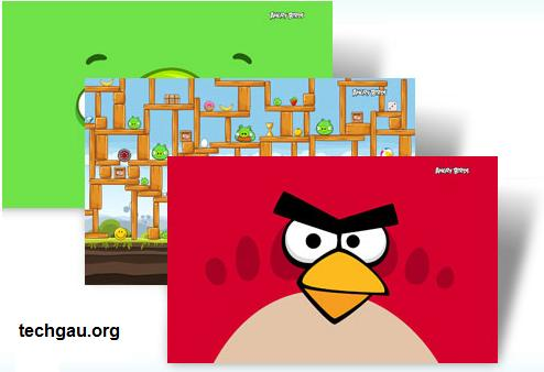 Windows Theme For Angry Birds