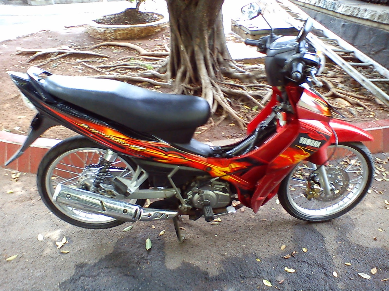 Modifikasi Motor Jupiter Z 2008