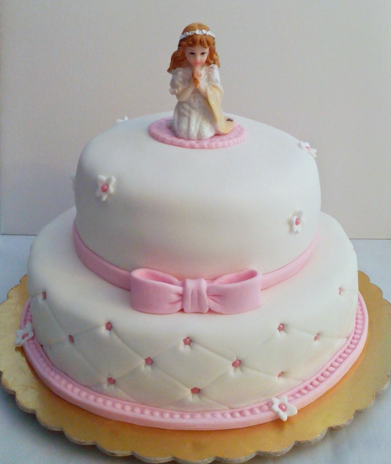 Cake Decorating Company Massa : Bolos da Luiza: Batizado e Comunhao
