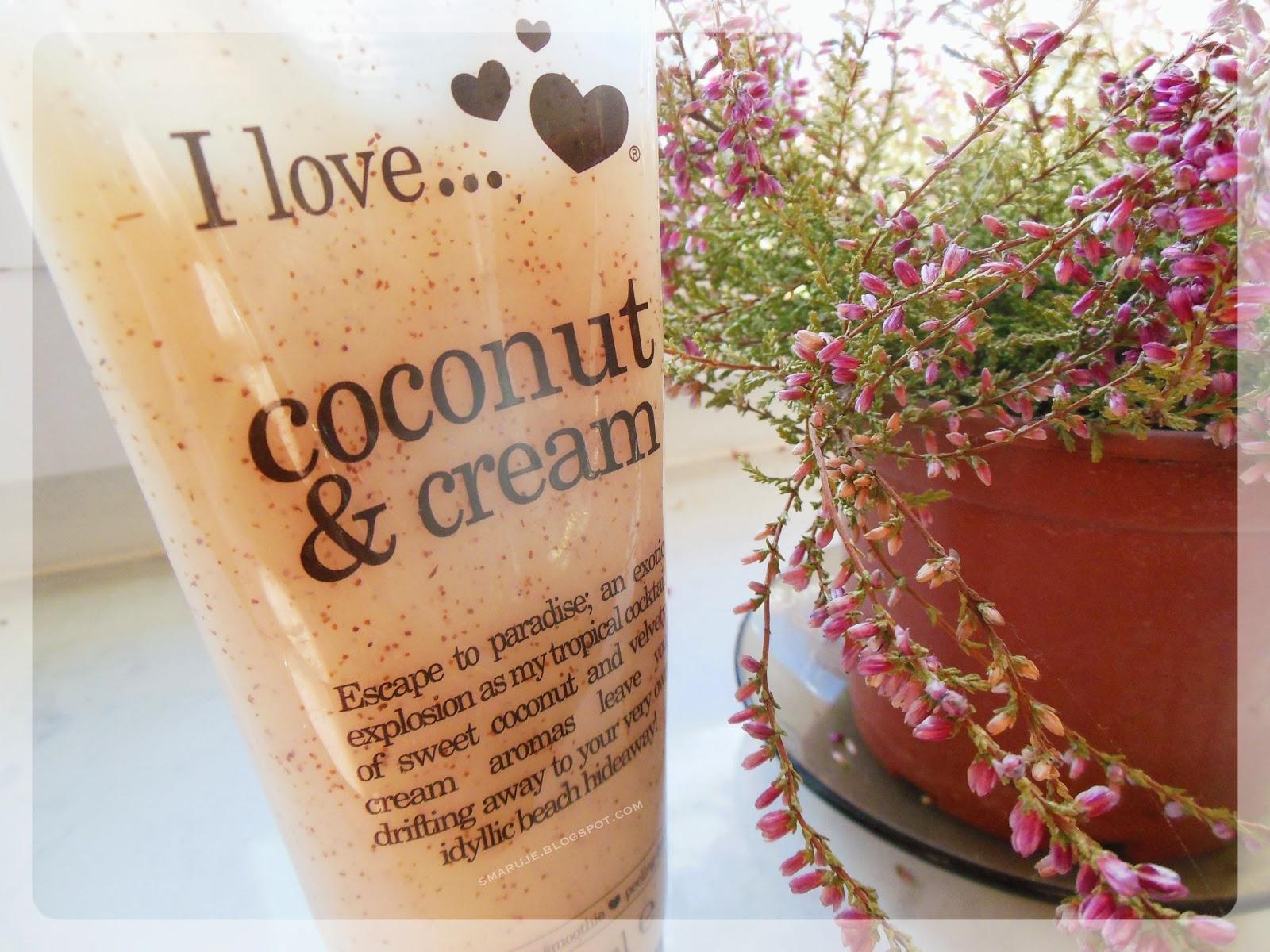 Ile jest peelingu w peelingu? I Love... Coconut & Cream – peeling myjący [recenzja]