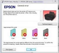 Cara Mengatasi General Error Epson T 13x