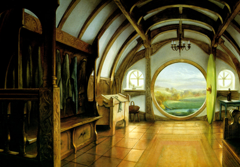 John Howe A Hobbit Dwelling