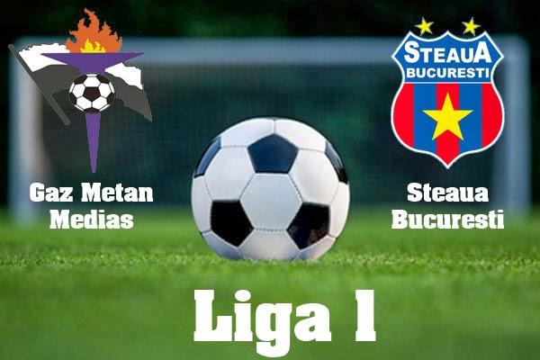 Steaua Gaz Metan Mediaş online 15 martie 2014