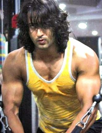 shaheer sheikh sixpack sexy muscle body
