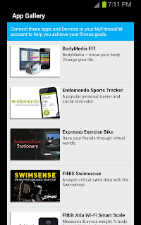MyFitnessPal App Gallery image