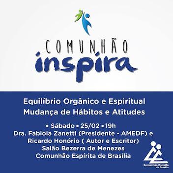Comunhão Inspira - Venha Participar!!!
