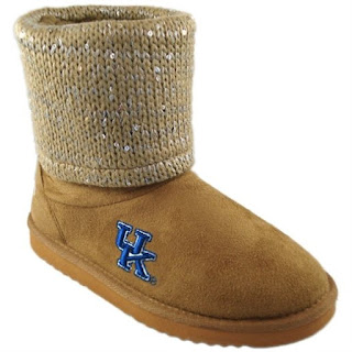 Kentucky Wildcats NCAA Sweater Booties
