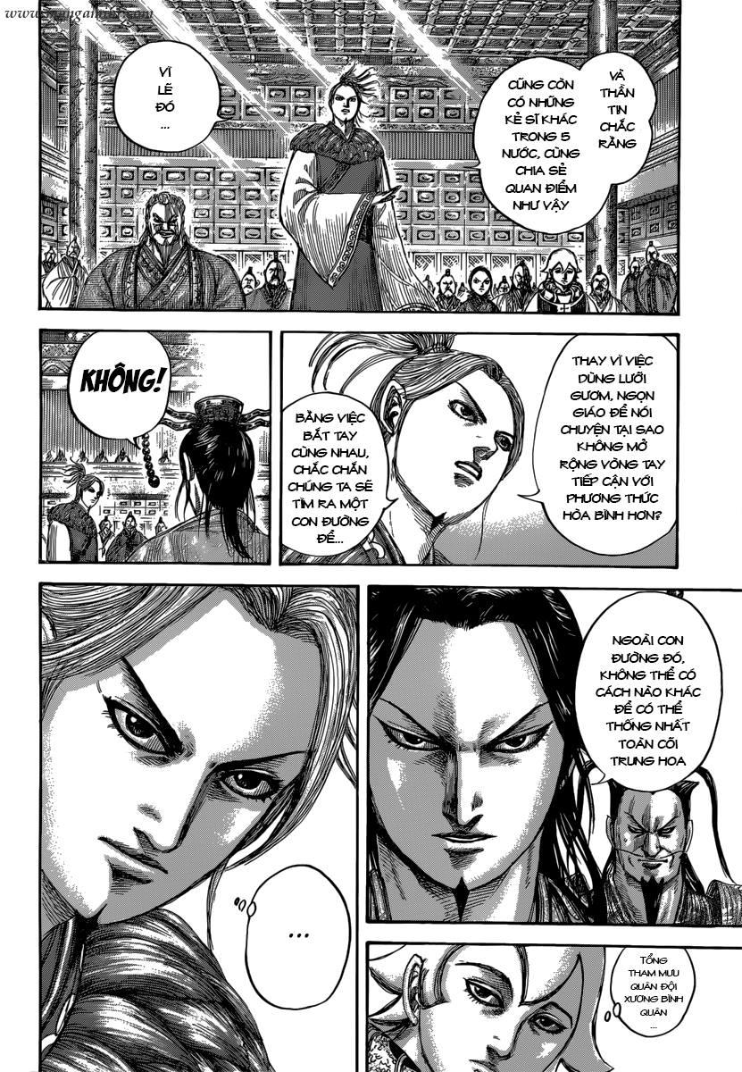 Kingdom – Vương Giả Thiên Hạ chap 490 Trang 9
