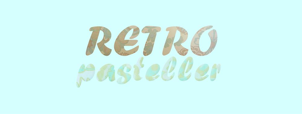 RETRO-pasteller