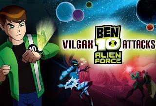 Download Game Ben 10 : Alien Force Vilgax Attacks