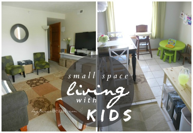 small space living with kids