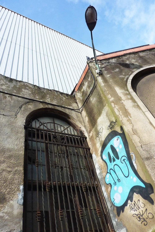 Paisaje urbano, Zorrozaurre, murales, graffitis,