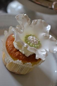 Vackra ätbara dekorationer