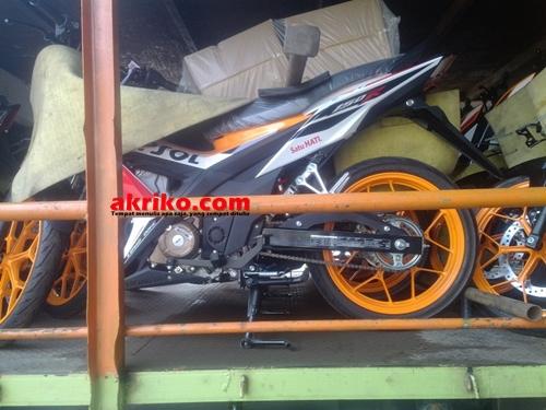 Honda Sonic 150 R Livery Honda Repsol MotoGP