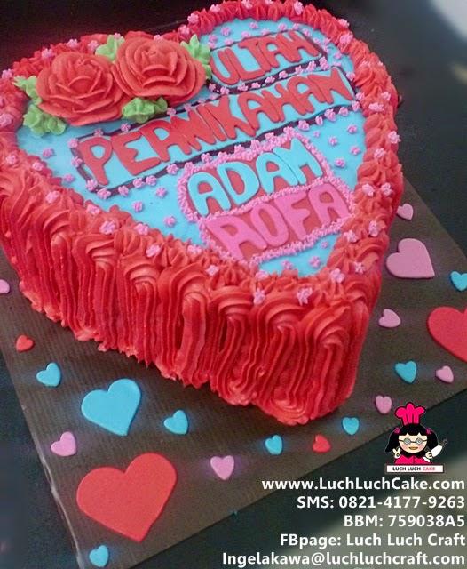 Kue Tart Ulang Tahun Pernikahan (Repeat Order)