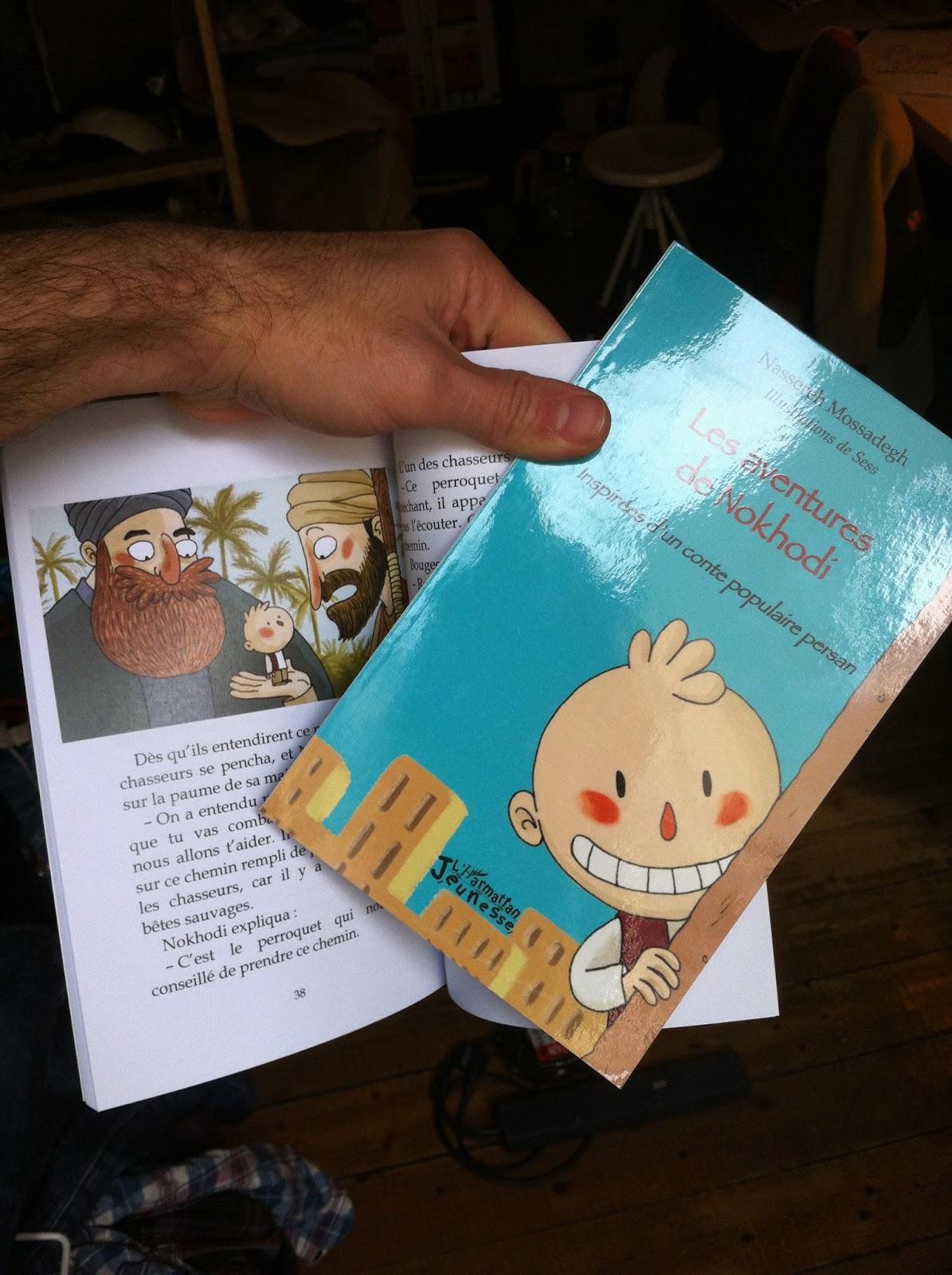 conte perse, édition l'harmattan, illustration jeunesse