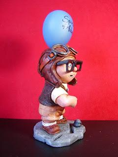 orme magiche carl up statuette sculture action figure personalizzate fatta a mano film animazione cartoni animati da colorare