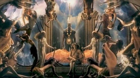 Kanye West illuminati video