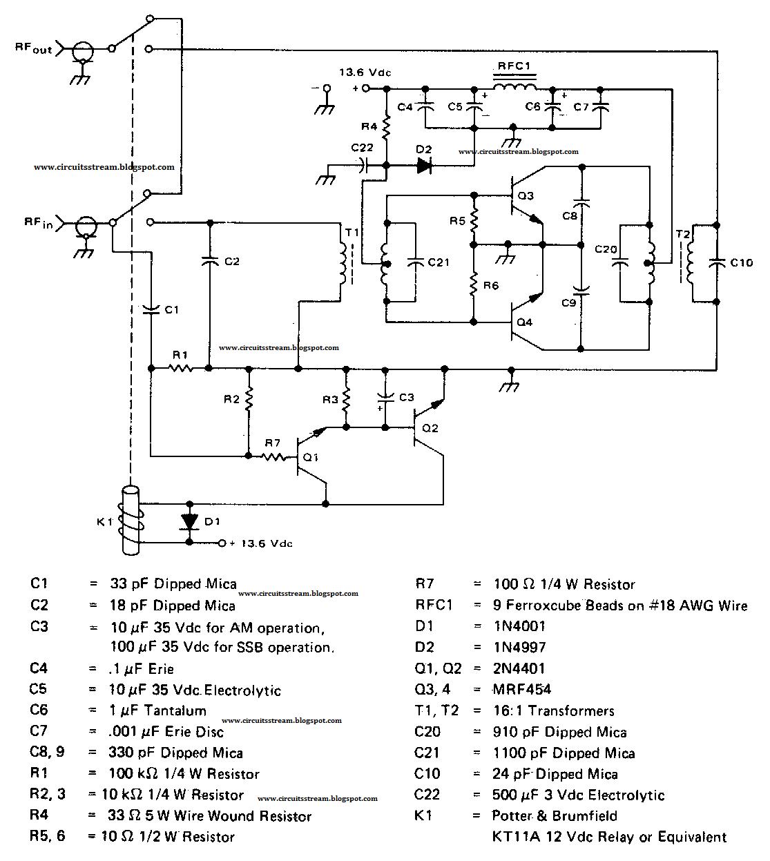 Build A 140w Amateur Radio Linear Amplifier 2