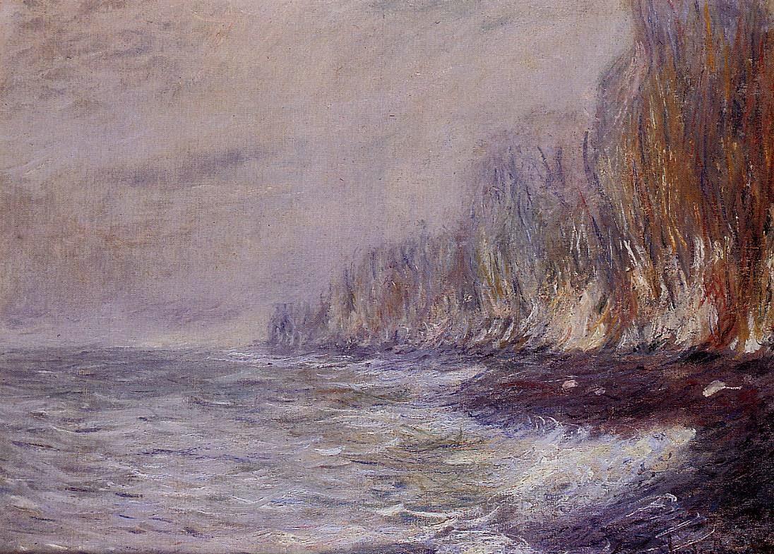 Effet de brouillard près de Dieppe (1882)