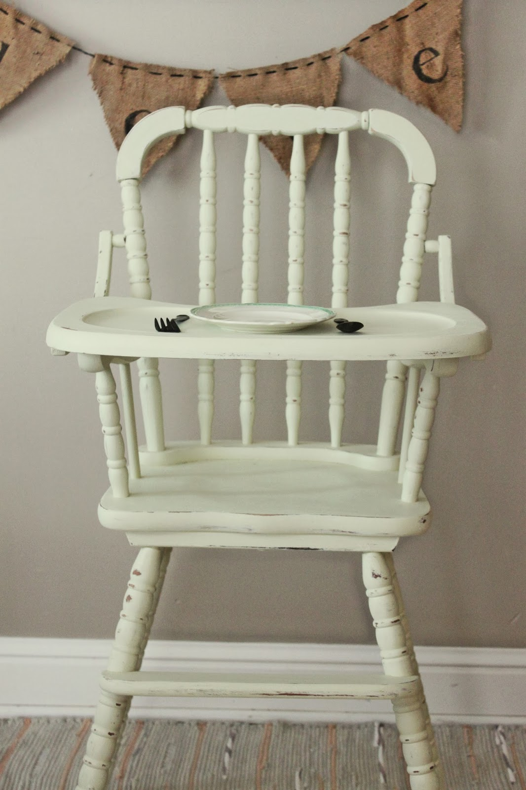 Painted High Chairs Etsy