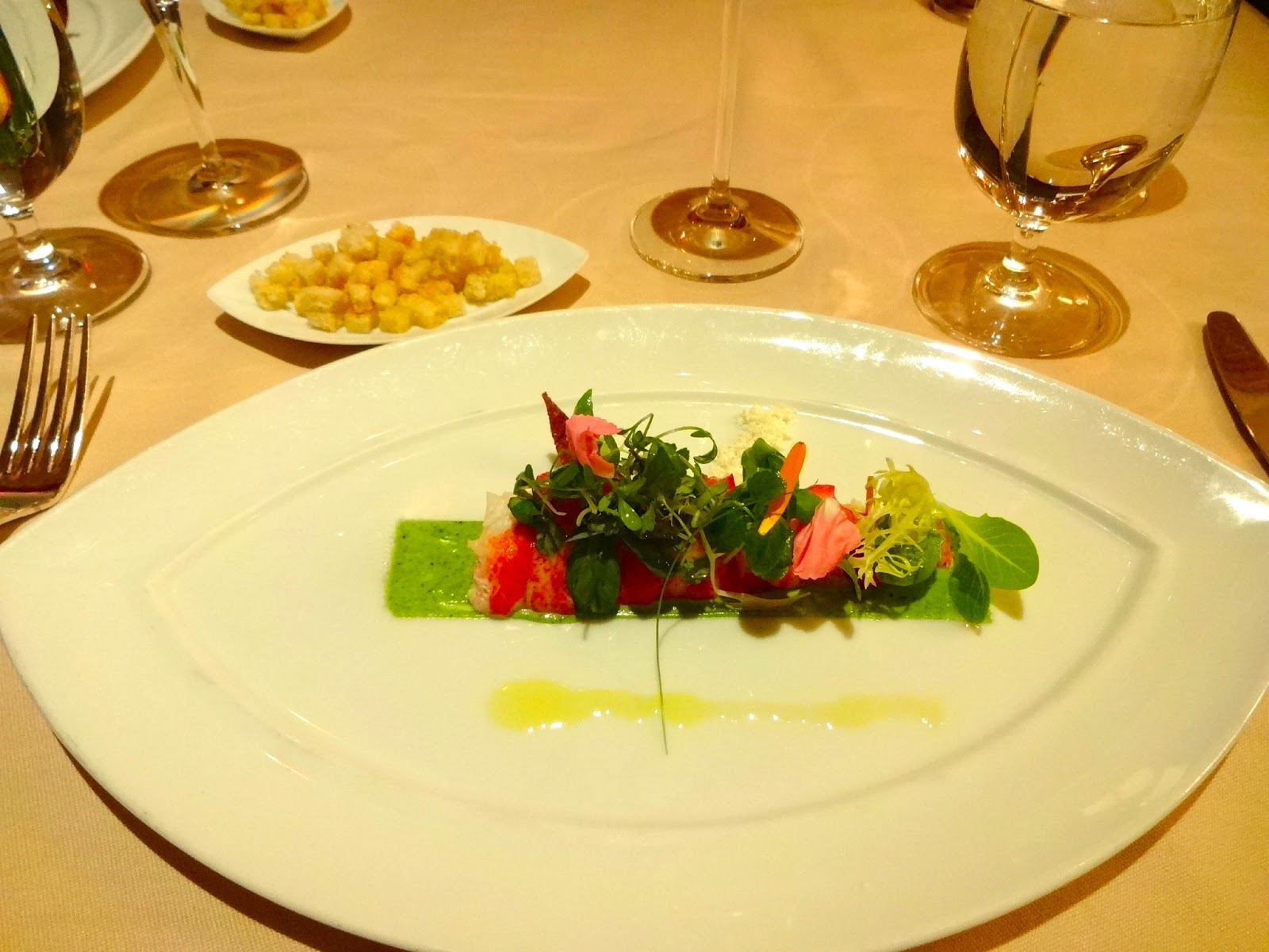 Victoria & Albert's Lobster Salad