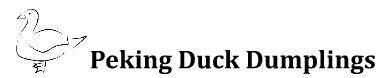 peking duck illustration