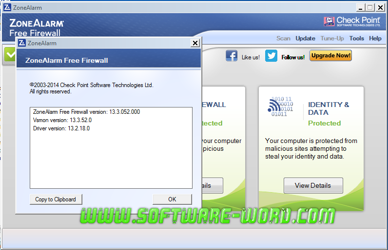 Download ZoneAlarm Free Firewall 13.3.050.000