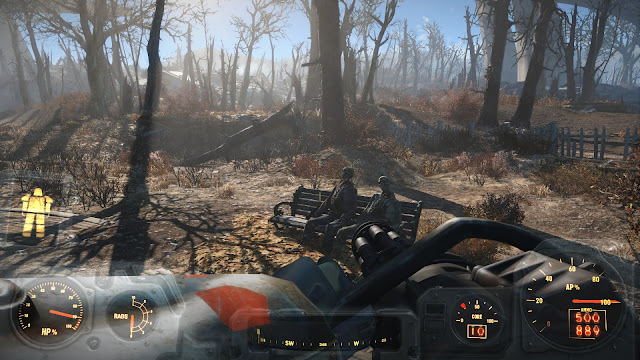 Fallout 4 power armour bench wasteland