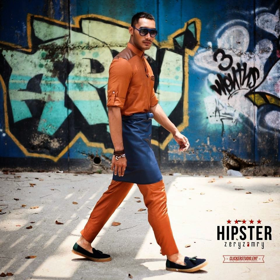5 Gambar Baju Melayu Hipster Terima Kritikan Pedas