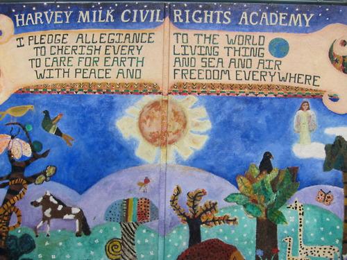 Harvey Milk Elementary School Tour