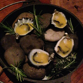 hentley farm, barossa, degustation, adelaide, fine dining, oysters, passionfruit, rosemary, starter, dinner