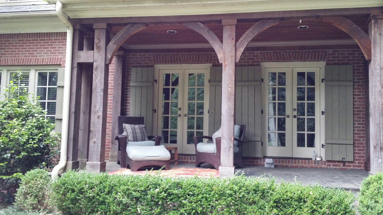 TARA DILLARD Front Porch Foundation Plantings or Steps