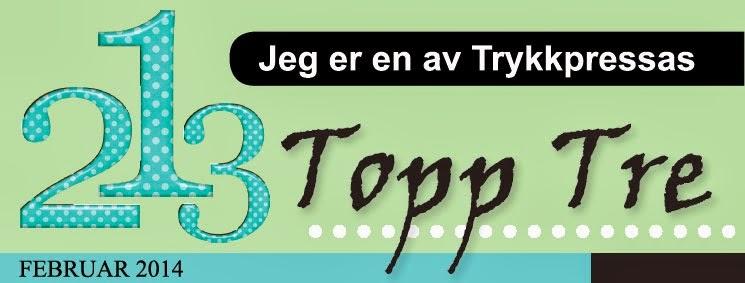 Topp 3 hos Ett Trykk ♥