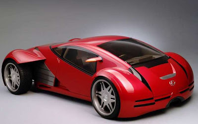 Lexus Sports Car 2054 Minority Report