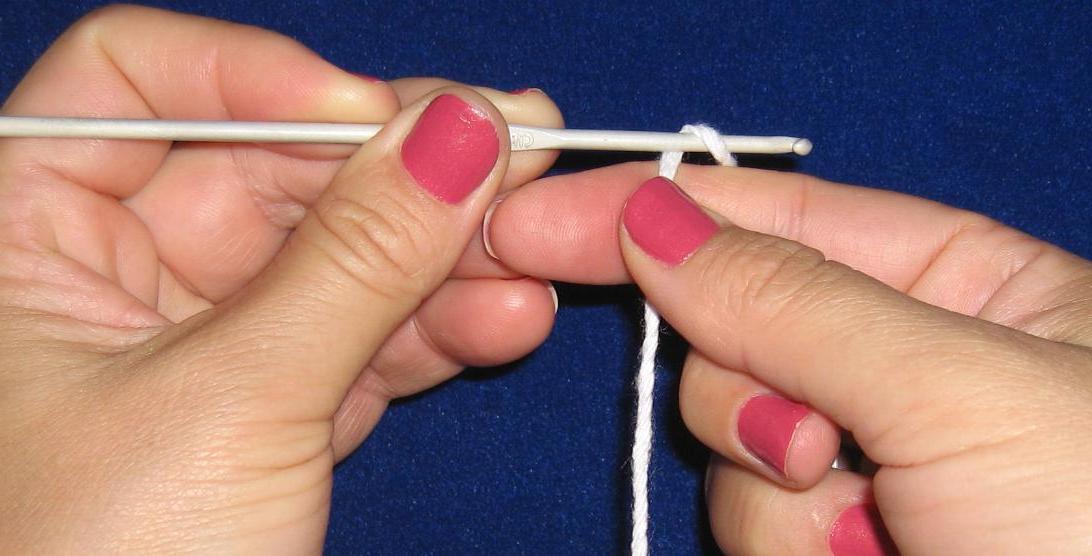 fazer crochê