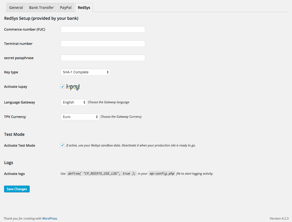 Free Download Plugin Wordpress Redsys Gateway