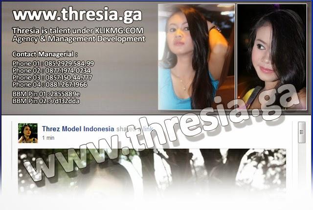 thresia.ga - situs web official resmi - Thresia Model / Talent dibawah kelola Klikmg