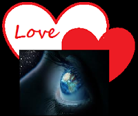 eye looking at two hearts, law of attraction dating sites, looking for love