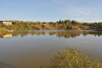 Lacul antroposalin din Ocna Sugatag