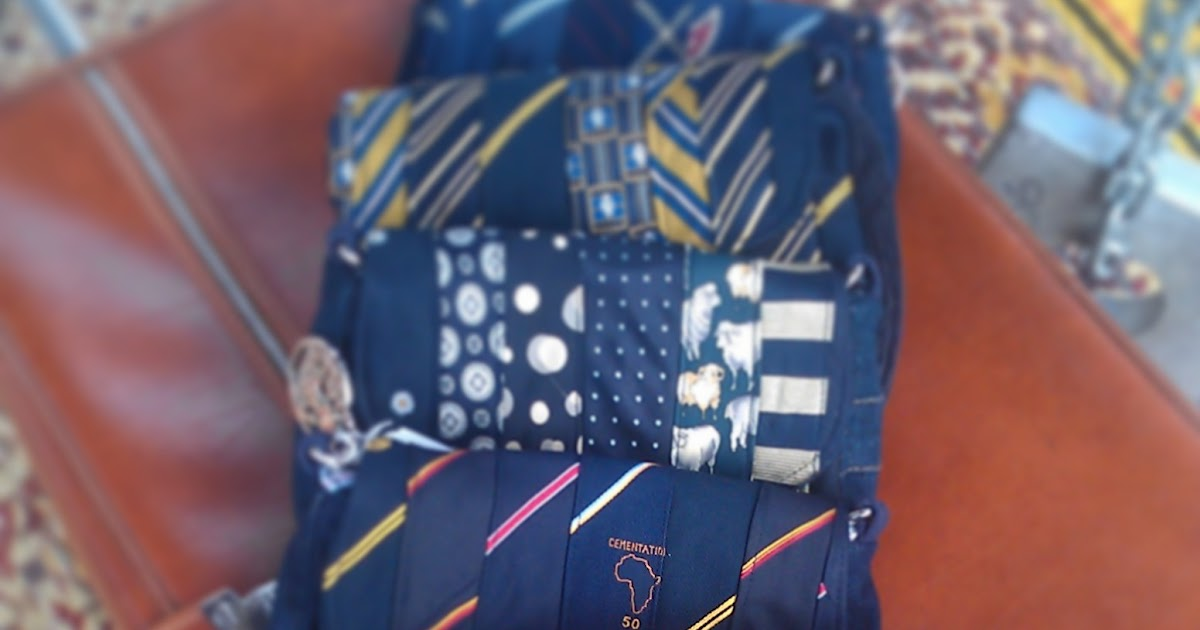 Gabby Lane Accessories Upcycled Necktie Bags
