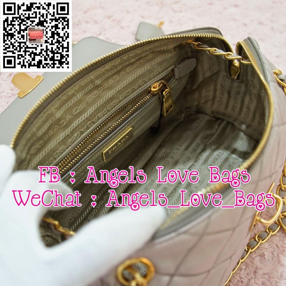 how to tell a fake prada purse - Angels Love Bags - The Fashion Buyer: ? PRADA Tessuto Impuntu ...