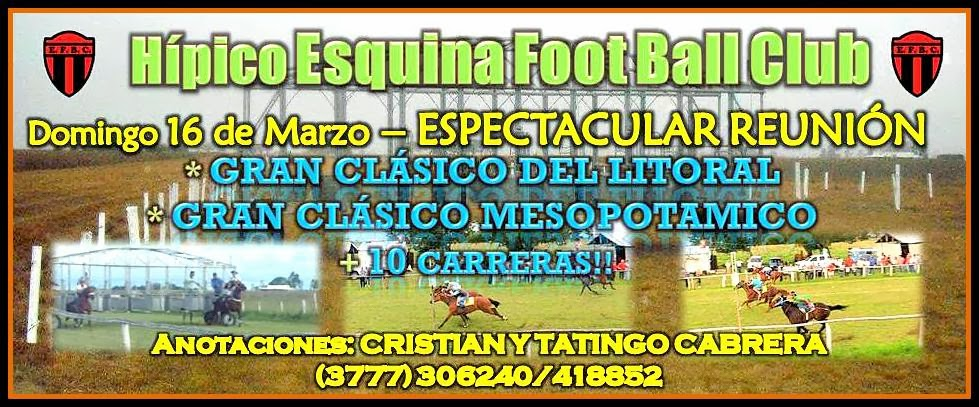 Esqina Foot ball club.